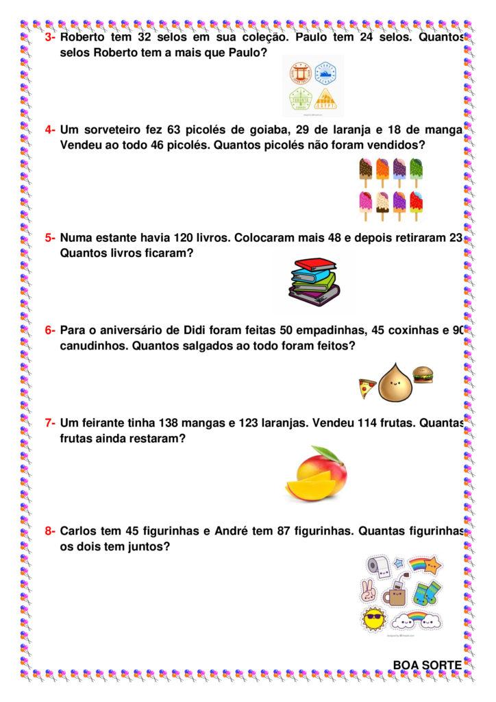 19 06 2020 3º E 4º Ano Planos De Aula De Matematica Com Atividades Cuca Super Legal Educacao Coordenacao Psicopedagogia E Orientacao Educacional